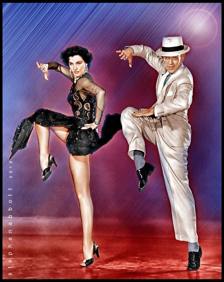 Cyd Charisse, Fred Astaire by Henstepbatbot